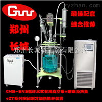 GR-50高硼硅双层玻璃反应釜GR-50(夹层可导入加热或制冷液)
