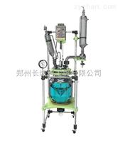雙層玻璃反應釜(夾層可導入冷液或加熱液)