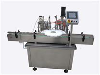 生產平穩安全操作簡單眼藥水灌裝旋蓋機
