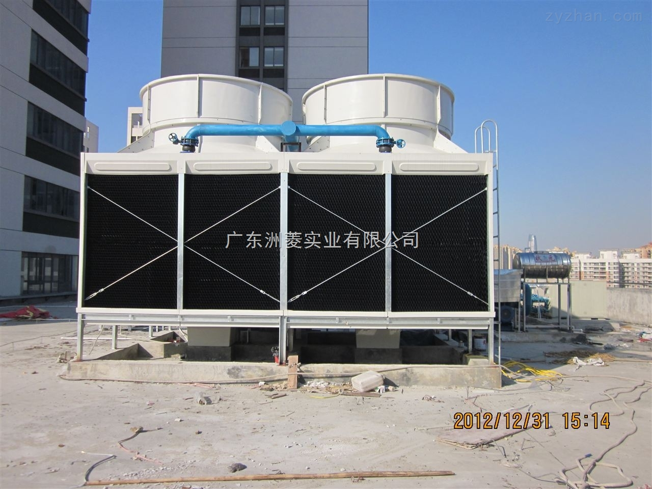 方形冷却塔 横流式方形冷却塔