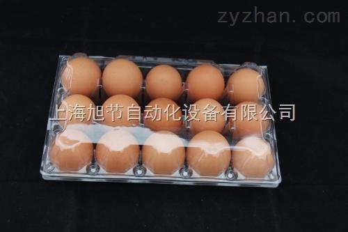 PVC鸡蛋包装盒贴标机