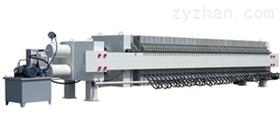 处理两台250平方二手箱式压滤机