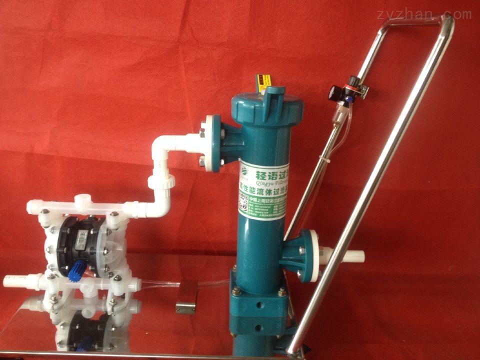 QYXTDL-1P4S-小推車過濾器   PP小推車過濾器