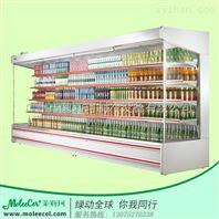 茉莉珂冷柜2米内机A款风幕柜广州冰柜厂家价格